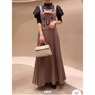 snidel - snidel トレンチジャンパースカート