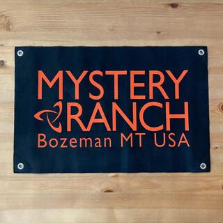ミステリーランチ(MYSTERY RANCH)のMYSTERY RANCH ❬非売品ショップフラッグ❭(その他)