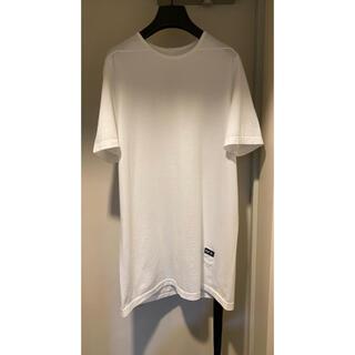 リックオウエンス(Rick Owens)の新品 21SS RICK OWENS LEVEL TEE  ホワイト(Tシャツ/カットソー(半袖/袖なし))