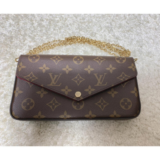 LOUIS VUITTON - ルイヴィトン モノグラム フェリーチェ!完売