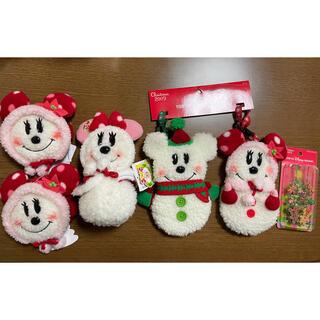 ディズニー(Disney)の東京ディズニーリゾートクリスマス限定 雪だるまミッキーミニーグッズセット(キャラクターグッズ)