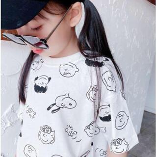 ♡新品 Tシャツ トップス 半袖   可愛い 男の子 女の子 大人気