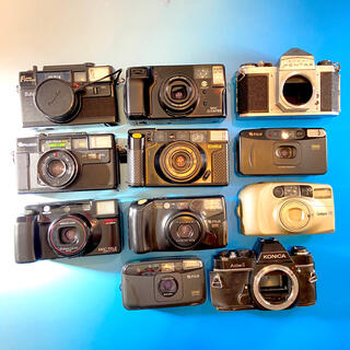 ペンタックス(PENTAX)の★フィルムカメラ コンパクトカメラ まとめて11点セット★(フィルムカメラ)