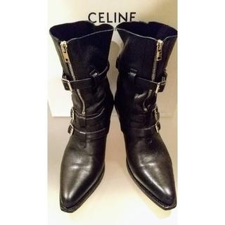 セリーヌ(celine)の美品セリーヌ by エディスリマン SS18 ハイヒール ベルリン ブーツ 40(ブーツ)