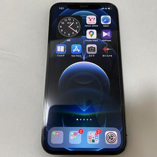 Apple - simフリー iPhone12 pro 128GB  グラファイト