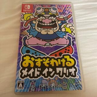 Nintendo Switch - 美品!! おすそわける メイドインワリオ switch
