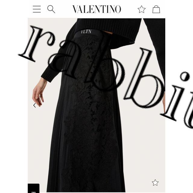 VALENTINO(ヴァレンティノ)のヴァレンティノ 2021年購入 プリーツスカート レディースのスカート(ロングスカート)の商品写真