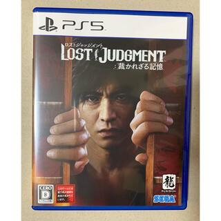 SEGA - 【PS5】 LOST JUDGMENT ロストジャッジメント:裁かれざる記憶