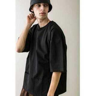 BEAUTY&YOUTH UNITED ARROWS - <monkey time> C/N PLTG/TJK PC TEE/Tシャツ
