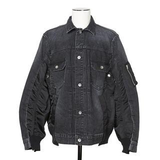 サカイ(sacai)のsacai サカイ Denim x MA-1 Jacket デニムジャケット(Gジャン/デニムジャケット)