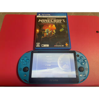 PlayStation Vita - vita アクアブルー 8