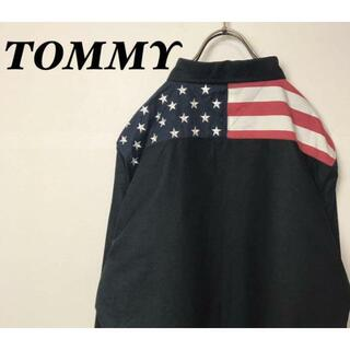 トミー(TOMMY)の★TOMMY(トミー)/星条旗柄切り替えシャツ★(シャツ)