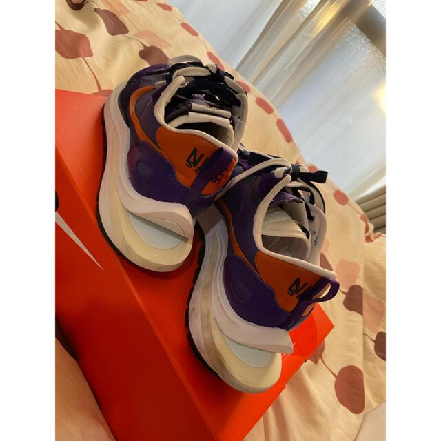 sacai(サカイ)のNIKE VAPORWAFFLE SACAI Dark IRIS US8.5 メンズの靴/シューズ(スニーカー)の商品写真