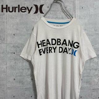 Hurley - ハーレー Hurley Tシャツ 半袖 プリントロゴ サーフ系 Sサイズ