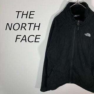 ザノースフェイス(THE NORTH FACE)のザノースフェイス フリース ブラック レディースL(ブルゾン)