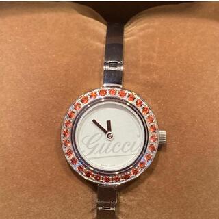 グッチ GUCCI 腕時計 ぐるりとガーネット♡可愛い♡美品♡