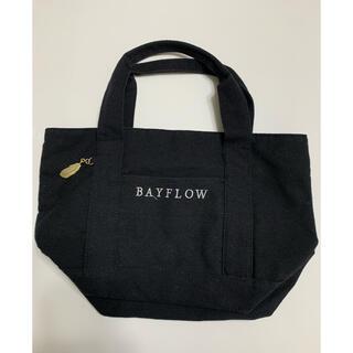 BAYFLOW - BAYFLOW ベイフロー トートバッグ ブラック