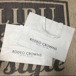 ロデオクラウンズワイドボウル(RODEO CROWNS WIDE BOWL)のRODEO CROWNS ショッパー 特大(ショップ袋)
