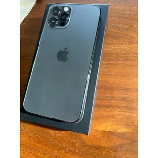 Apple - Apple iPhone12Pro 128GB グラファイト 本体 SIMフリー