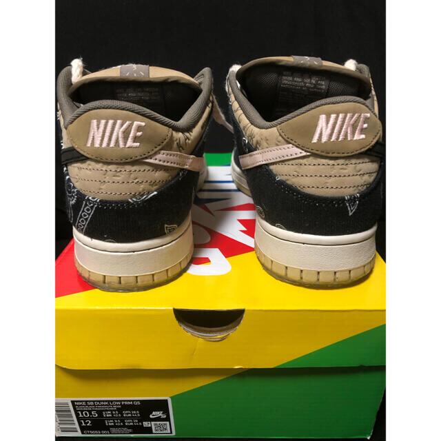 NIKE(ナイキ)の100%正規品 nike travis dunk low 28.5 美品 メンズの靴/シューズ(スニーカー)の商品写真