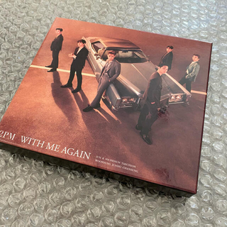 2PM  WITH ME AGAIN (初回生産限定盤A)