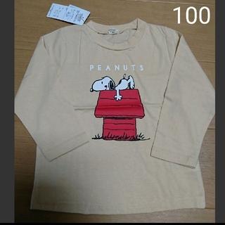 スヌーピー(SNOOPY)のスヌーピー シャツ ロンt(Tシャツ/カットソー)