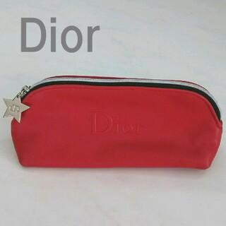 Dior - Dior◆ポーチ◆赤◆ディオール◆化粧ポーチ◆コスメポーチ◆星型チャーム