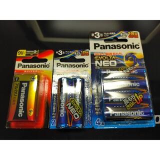 Panasonic - 単3 乾電池 6本 9V型 乾電池 Panasonic パナソニック 乾電池