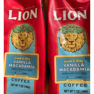 LION - ライオンコーヒー 2袋✖️198g 人気のバニラマカダミア