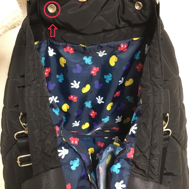 Disney(ディズニー)の【あゆ様専用】ショルダー紐付き☆2wayマザーズバッグ♡ミッキー柄 キッズ/ベビー/マタニティのマタニティ(マザーズバッグ)の商品写真