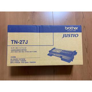 ブラザー(brother)のbrother TN-27J 純正トナー カートリッジ(オフィス用品一般)