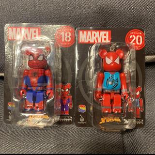 マーベル(MARVEL)のベアブリック  BE@RBRICK スパイダーマン 新品 2個セット(アメコミ)