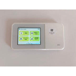 エーユー(au)のau WiMAX2+ Speed Wi-Fi NEXT W03(その他)