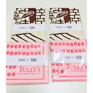 タリーズコーヒー(TULLY'S COFFEE)のタリーズかまわぬコラボ 手ぬぐい&風呂敷セット(日用品/生活雑貨)