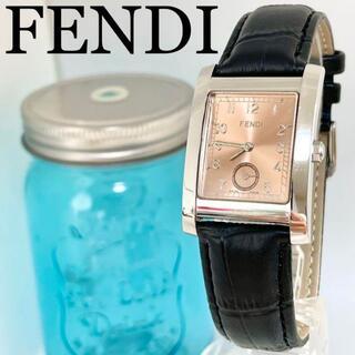 フェンディ(FENDI)の261 FENDI フェンディ時計 メンズ腕時計 スモールセコンド スクエア(腕時計(アナログ))