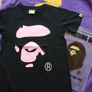 アベイシングエイプ(A BATHING APE)の☆新品 アベイシングエイプ ビッグロゴ Tシャツ(Tシャツ(半袖/袖なし))