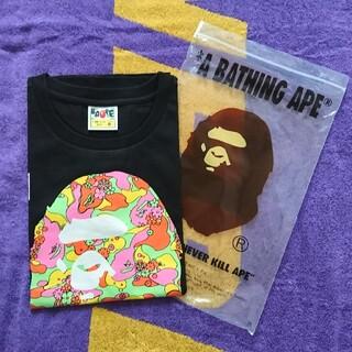 アベイシングエイプ(A BATHING APE)の☆新品 アベイシングエイプカモロゴ Tシャツ(Tシャツ(半袖/袖なし))
