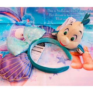 Disney - 1セットのみ お品切れ中 ディズニー アリエル カチューシャ 肩のせ セット