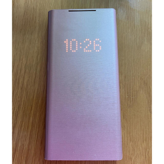 SAMSUNG - galaxy note20ultra SMART LED VIEW COVER