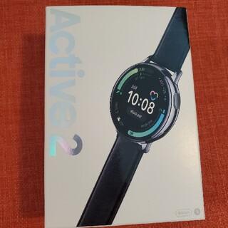 ギャラクシー(Galaxy)のGALAXY watch active2 44mm シルバー(腕時計(デジタル))