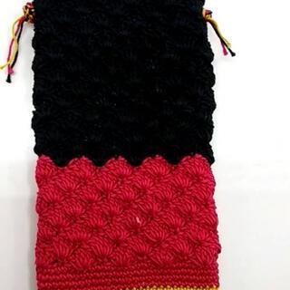 手編みスマホケース(スマホケース)