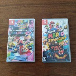 Nintendo Switch - マリオカート8デラックス マリオ3Dワールド 任天堂スイッチソフト switch