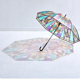 フェリシモ(FELISSIMO)の大正ロマン★素敵なステンドグラスの傘★レトロ★アンティーク(傘)