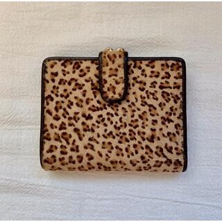 サザビー(SAZABY)のSAZABY/サザビー 二つ折り財布 ハラコ(財布)