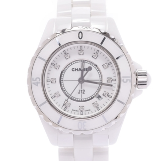 シャネル(CHANEL)のシャネル  J12 33mm 12Pダイヤ 腕時計(腕時計)