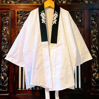 キャサリンコテージ(Catherine Cottage)のキャサリンコテージ 新品 袴 着物用 肌着 桜 刺繍 黒 半襦袢 着物 インナー(和服/着物)