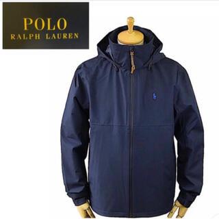 ポロラルフローレン(POLO RALPH LAUREN)の新品POLO RALPH LAUREN メンズ ツイル フーデッドジャケット L(ナイロンジャケット)