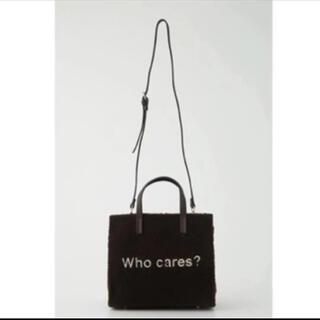 リエンダ(rienda)のrienda who cares? ボアトートバッグ(トートバッグ)