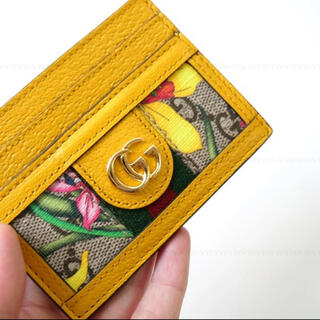 グッチ(Gucci)のGUCCI 本物 新品花柄カードケース!(パスケース/IDカードホルダー)