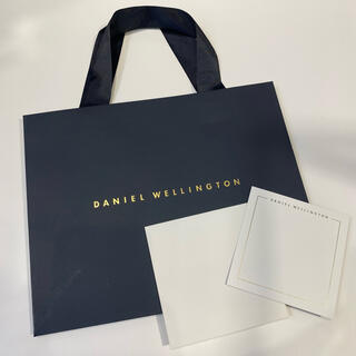 ダニエルウェリントン(Daniel Wellington)のダニエルウェリントン 公式ショッパー大+メッセージカード(ショップ袋)